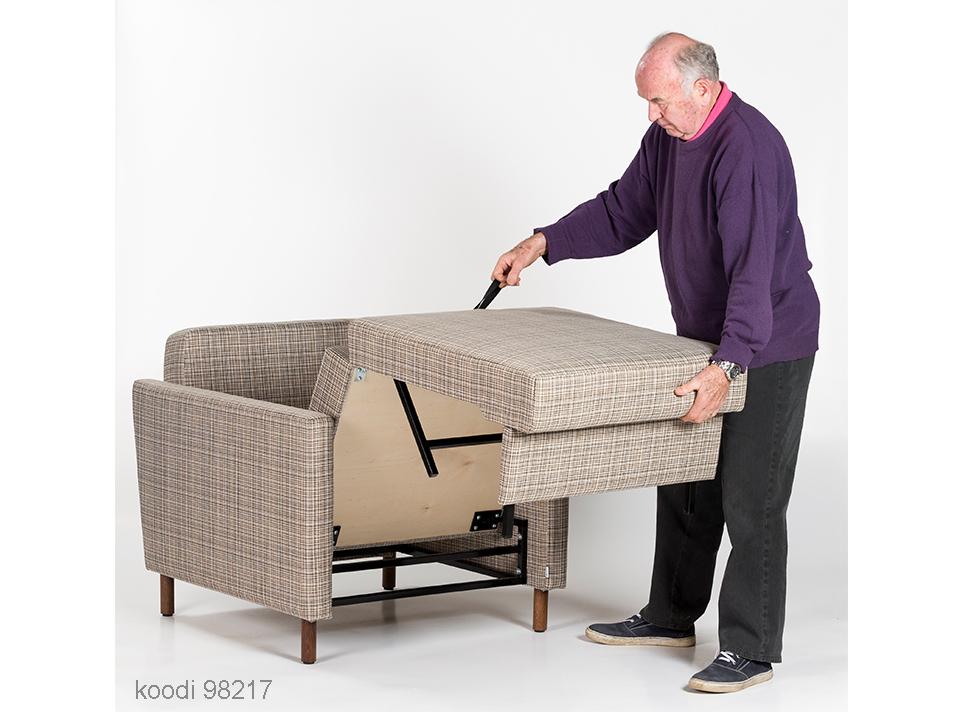 Bed sofas 1-seater / Vuodetuoli